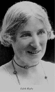 Edith Rigby English suffragette