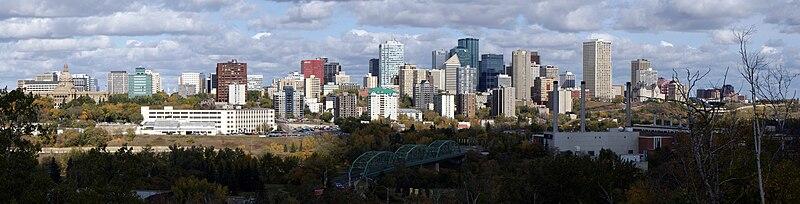 File:Edmonton Skyline Panorama.jpg