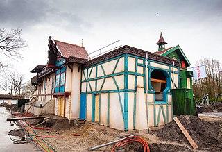 Max & Moritz (roller coaster) rollercoaster in Efteling