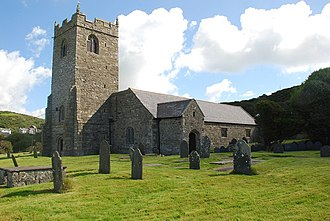 Llanengan - Image: Eglwys S Engan Llanengan geograph.org.uk 519194