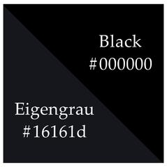 Eingrau vs Black