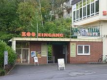 Eingang zum Neunkircher Zoo