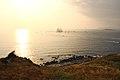 El buque escuela Juan Sebastián Elcano partiendo de la Bahía de Bayona-08.jpg