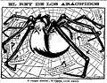 El rey de los arácnidos, de Tovar, El Liberal, 23-03-1908.jpg