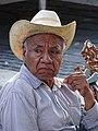 Elderly Man in Zocalo - Papantla - Veracruz - Mexico (15829379429).jpg