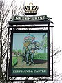 Elephant and castle pub sign - geograph.org.uk - 655992.jpg