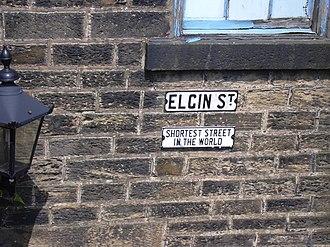 Elgin Street, Bacup - Elgin Street (photo from 2007)