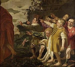 Elisha mocked by the little children