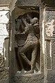 Ellora Caves, India, Rock-cut carvings 2.jpg