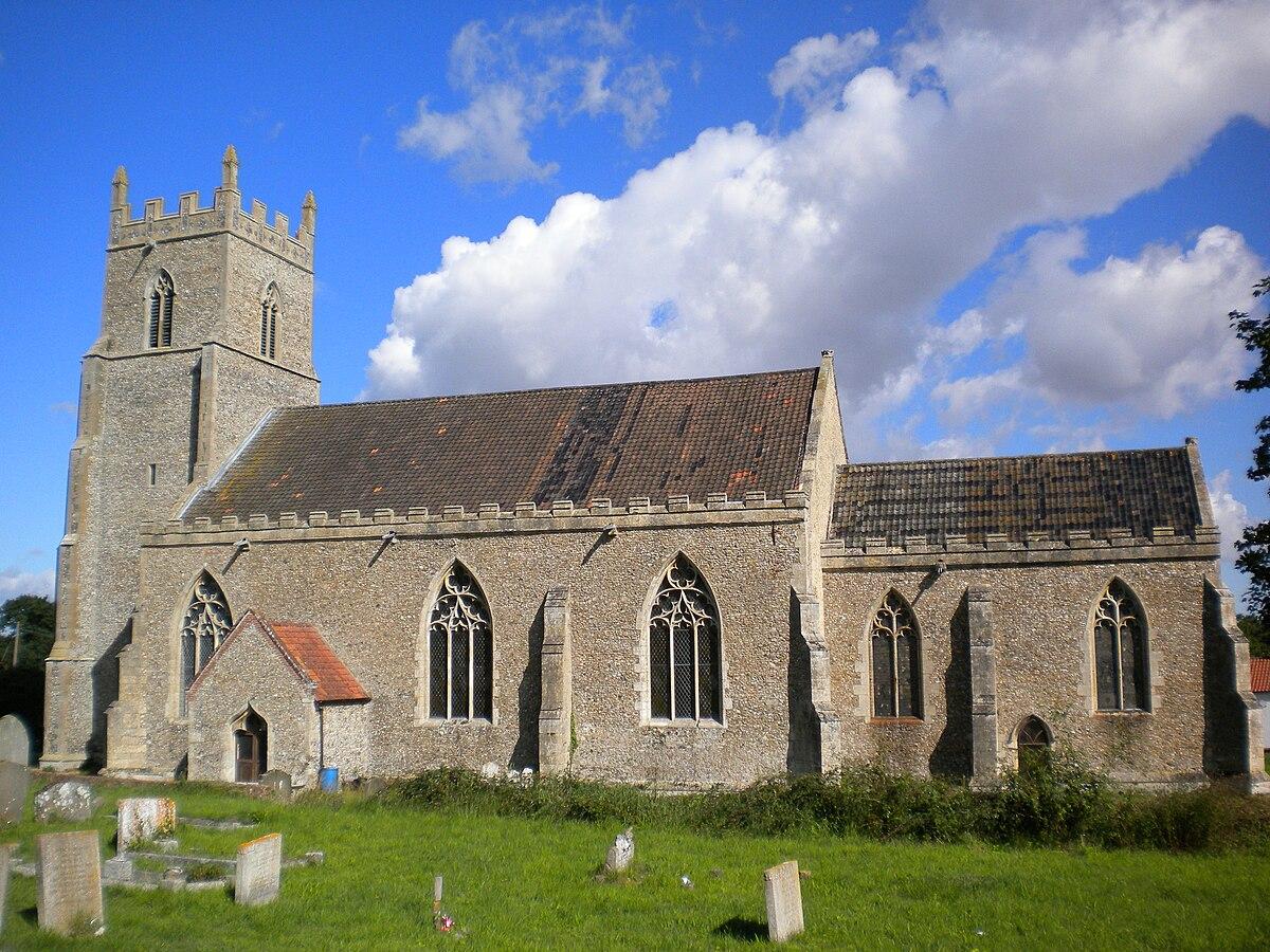 St Mary S Church Elsing Wikipedia
