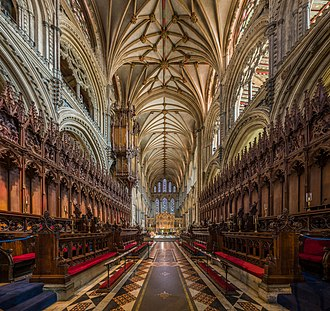 The choir Ely Cathedral Choir, Cambridgeshire, UK - Diliff.jpg