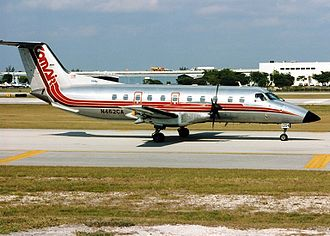 Comair Flight 3272 - A Comair Embraer EMB-120, similar to the one involved.