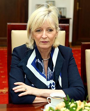 European Ombudsman - Image: Emily O'Reilly Senate of Poland