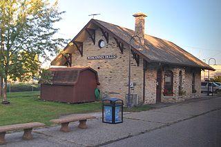 Wisconsin Dells station Amtrak train station