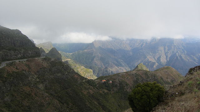 Madeira Encumeada Sao Vicente