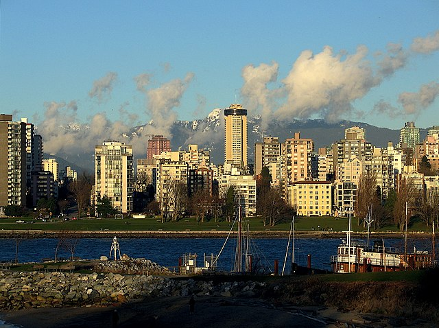 """English Bay Vancouver"". Licensed under Creative Commons Attribution-Share Alike 2.0 via Wikimedia Commons - https://commons.wikimedia.org/wiki/File:English_Bay_Vancouver.jpg#mediaviewer/File:English_Bay_Vancouver.jpg"
