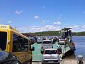 Entrada para Balsa no Rio Buranhém entre Arraial d'Ajuda e Porto Seguro BA.JPG