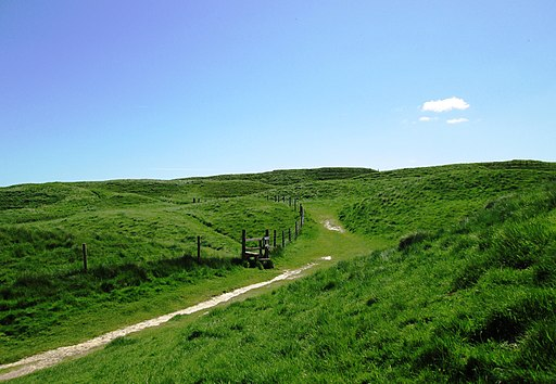 Entrance to Maiden Castle