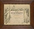 Erediploma- De Bonck, Onbekend, Bakkerijmuseum Veurne, Diploma, 2253.jpg