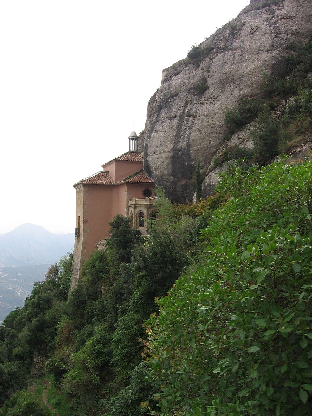 Santa Cueva de Montserrat - Wikipedia, la enciclopedia libre