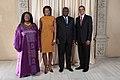 Ernest Bai Koroma with Obamas.jpg