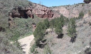 Erosión de areniscas en el Barranco Salobre 2.jpg