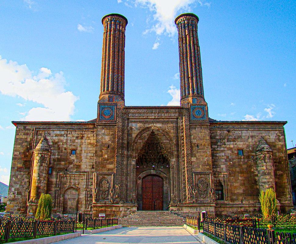 Erzurum Cifte Minareli Sunrise