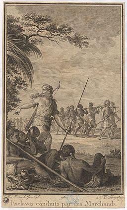 Esclaves conduits par des marchands