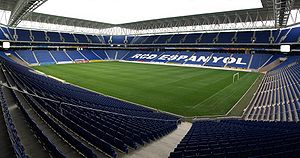 RCDE Stadium - Image: Estadio RCDE Pano