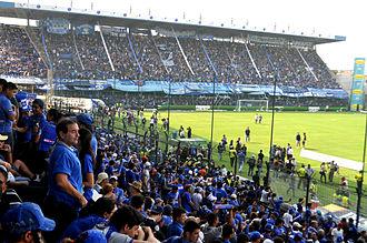 1993 Copa América - Image: Estadio George Capwell, hinchada de EMELEC