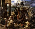 Eugène Delacroix - The Entry of the Crusaders into Constantinople - WGA6202.jpg