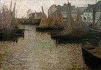 Eugène Laurence Vail 1884c Barques à Concarneau.jpg