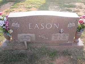Eugene Eason - Eason grave at Springhill Cemetery