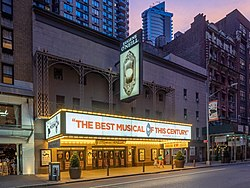 Eugene O'Neill Theatre - Book of Mormon (48295951286).jpg
