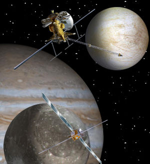 English: Artist concept of the proposed Europa...