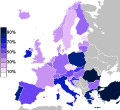 Europe belief in god.svg
