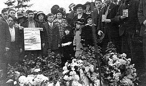 Everett massacre - Image: Everett Funeral