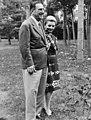 Ex-President Juan Domingo Perón van Argentinië Perón en zijn tweede echtgenote , Bestanddeelnr 926-0240 (cropped).jpg