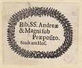 Ex-libris Regensburg-Stadtamhof Augustinerchorherrenstift 03.jpg