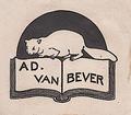 Ex Libris Van Bever.png