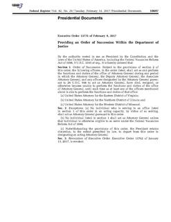 Executive Order 13775