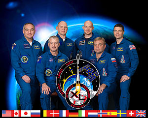 Expedition 40 - Image: Expedition 40 crew portrait