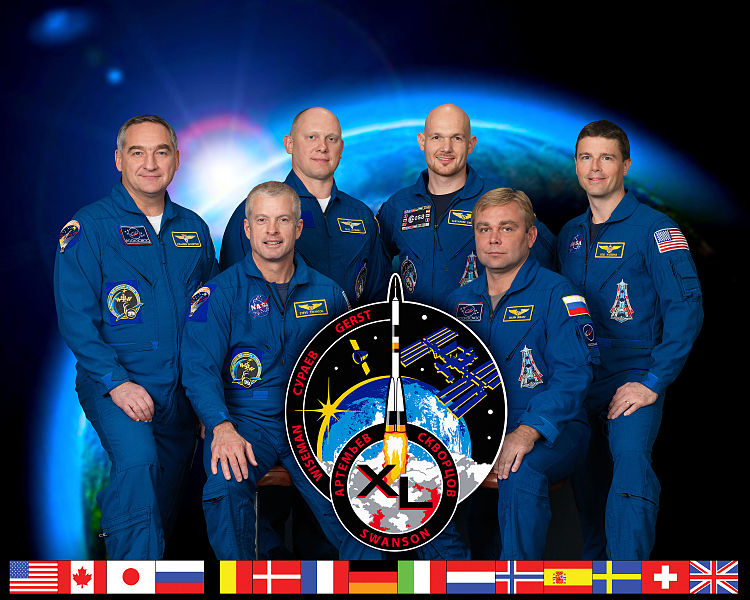 ファイル:Expedition 40 crew portrait.jpg