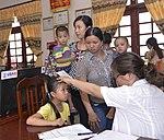 Eye screening for kindergarten children in Quoc Oai district of Hanoi (14310882685).jpg