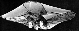 Ezekiel Airship - A 1901 photograph of the original Ezekiel Airship