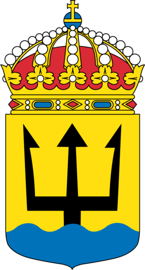 1st Submarine Flotilla (Sweden) - Coat of arms of the 1st Submarine Flotilla