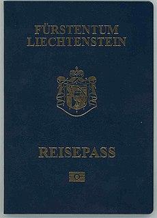 Liechtenstein passport passport