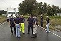 FEMA - 39154 - US&R team meeting on a street in Louisiana.jpg