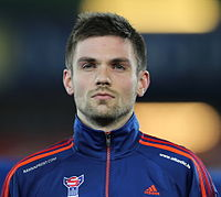 FIFA WC-qualification 2014 - Austria vs Faroe Islands 2013-03-22 - Jónas Þór Næs 01.JPG
