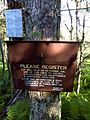 FLT M32 7.1 mi - DEC register near Balsam Lake parking area - panoramio.jpg